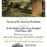 Caring for your Ancestors Gravestones – August 8 Southbury